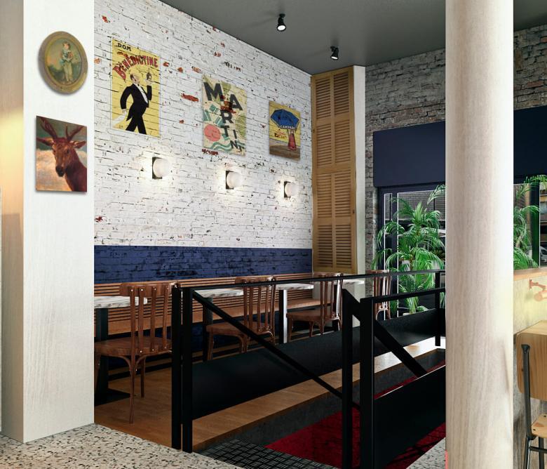Bar Restaurant Districte V Raval 15