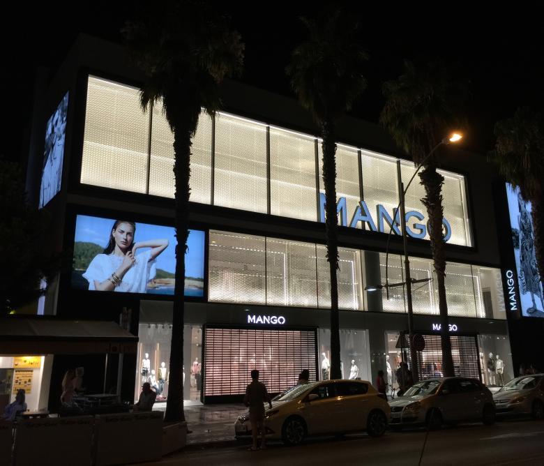 Edifici comercial corporatiu Mango Platja D'Aro